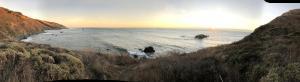 5 Sea Lion Gulch sunset pano