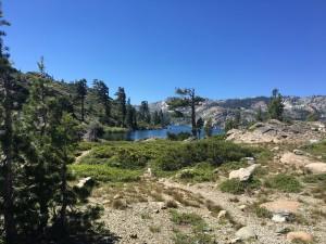 Approaching Long Lake