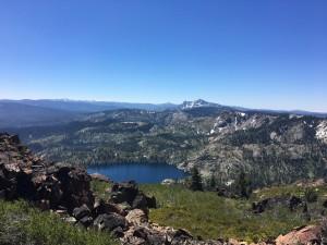 Peak view, looking south
